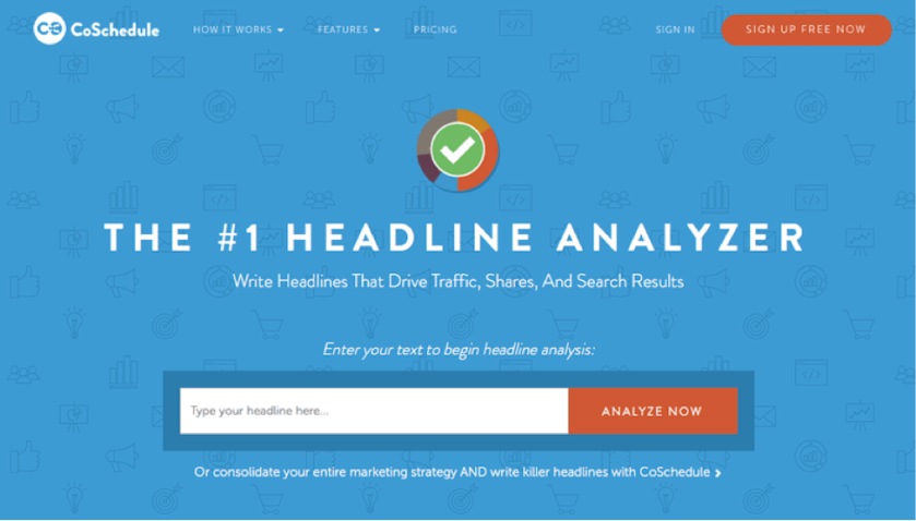 Co Schedule Headline Analyzer
